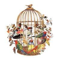 BOUQUET OF BIRDS 750 pc SHAPED PUZZLE